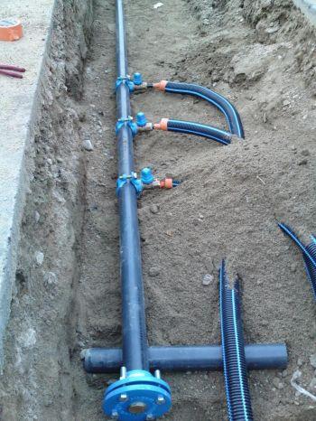 Une canalisation d 39 eau est situ e sous une voie priv e - Pression d eau dans une maison ...